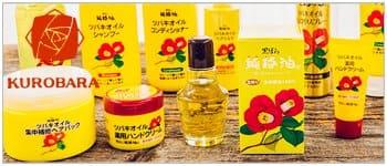 Косметика с маслом камелии производство Япония Kurobara