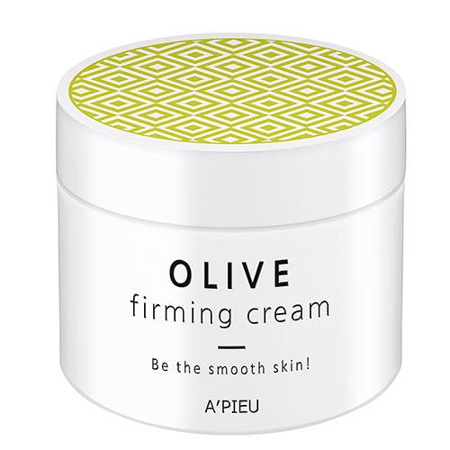 Крем для лица для гладкости кожи Оливковый