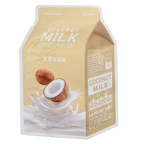 Маска для лица Кокос (с молочными протеинами)