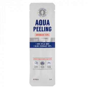 Ватная палочка для пилинга c AHA и BHA-кислотами и экстрактом алоэ