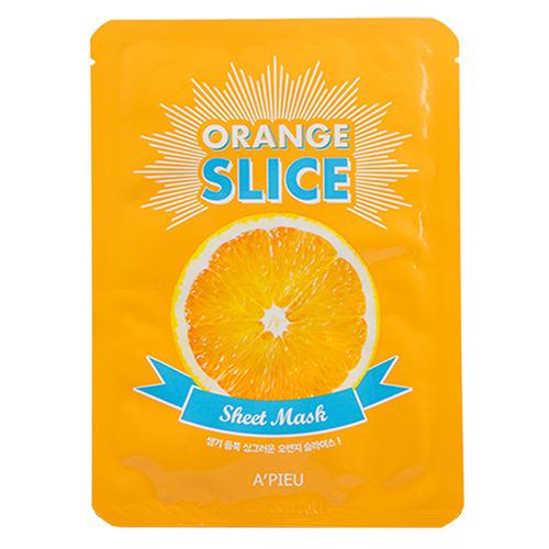 Маска для лица Апельсин (слайсы)