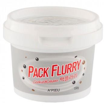 Маска-скраб для лица `PACK FLURRY` COOKIE & CREAM