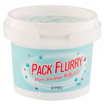 Маска-скраб для лица `PACK FLURRY` MINT CHOCOCHIP