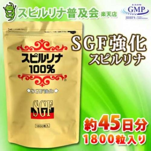 ALgae Спирулина SGF (1800 таблеток на 45 дней)