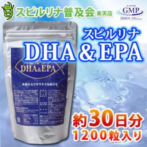 Algae Спирулина Омега-3 (1200 таблеток на 30 дней)