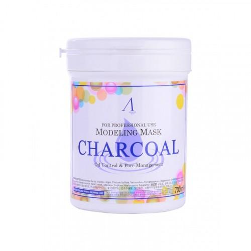 Маска альгинатная для кожи с расширенными порами (банка) Charcoal Modeling Mask /container