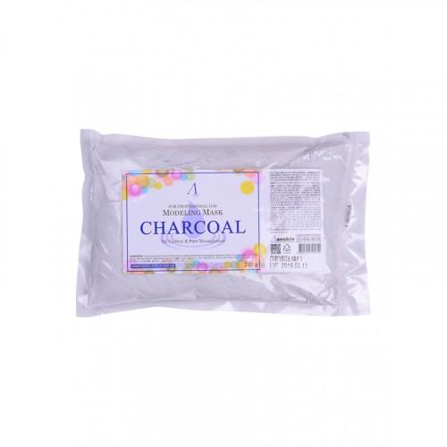 Маска альгинатная для кожи с расширенными порами (пакет) Charcoal Modeling Mask / Refill