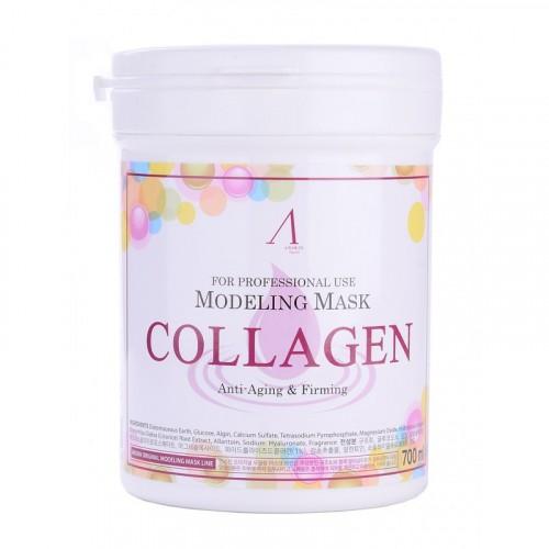 Маска альгинатная с коллагеном укрепляющая (банка) Collagen Modeling Mask / container