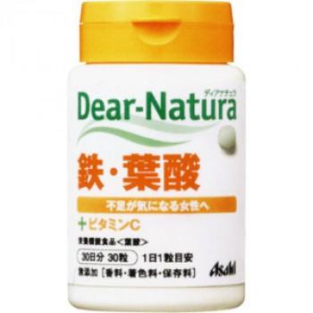 Dear Natura Железо, фолиевая кислота плюс витамин С