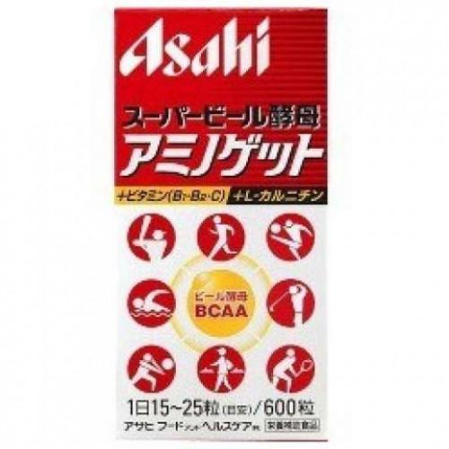 Asahi Пивные дрожжи с аминокислотами (600 таблеток)