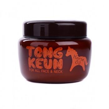 Маска питательная для лица с лошадиным жиром Tongkeun Golden Horse Oil Pack