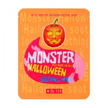Маска для лица успокаивающая Dr.119  Monster Halloween soothing Mask