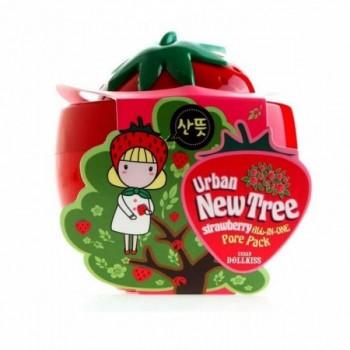 Маска для лица от расширенных пор New Tree Strawberry All-In-One Pore Pack