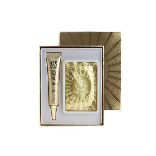 Крем для глаз с 24к золотом Urban Dollkiss Agamemnon 24K Gold Eye Cream  Special Kit