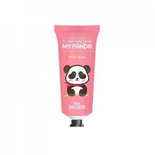 Крем для рук Urban Dollkiss It's Real My Panda Hand Cream #01 WHITE MUSK