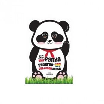 Маска для лица коллагеновая My panda synergy up collagen mask pack