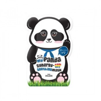 Маска для лица укрепляющая My panda synergy up shoothing mask pack