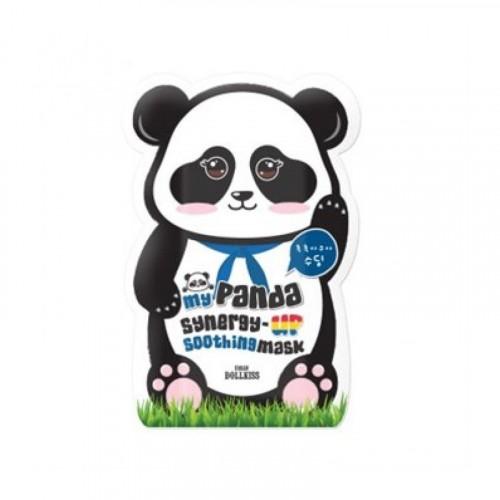 Маска для лица укрепляющая My panda synergy up shoothing mask pack