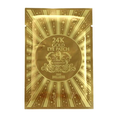 Патч для глаз гидрогелевый с 24К золотом Urban Dollkiss Agamemnon 24K Gold Hydrogel Eye Patch