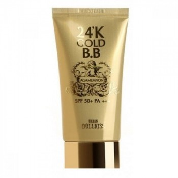Крем ББ с 24к золотом Agamemnon 24K Gold BB Cream #21 Light, SPF 50+ PA