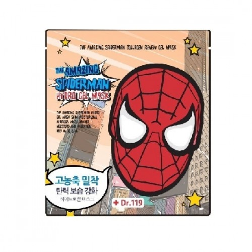 Маска для лица гидрогелевая THE AMAZING SPIDERMAN SNAIL NUTRITION GEL MASK