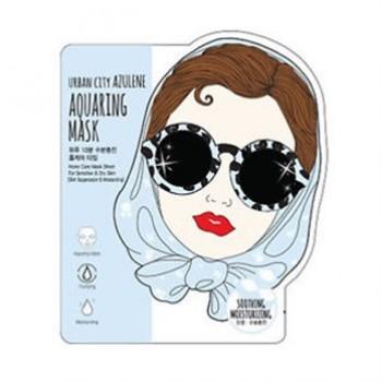 Маска для лица тканевая Urban City Azulene Aquaing Mask Soothing-Moisturizing