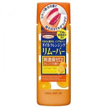 Жидкость для снятия лака с апельсиновым маслом (без ацетона)