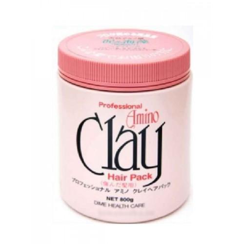 Маска для поврежденных волос с аминокислотами и глиной