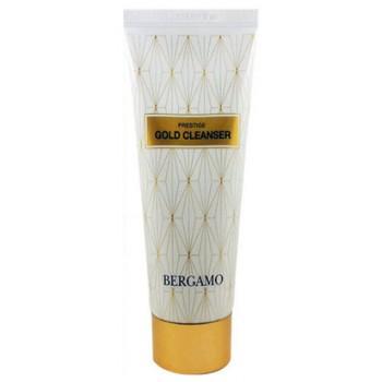 Очищающая пенка для лица с золотом, 120 ml, BERGAMO