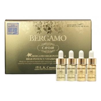 Сыворотка ампульная с экстрактом икры для витаминизации кожи (4 ампулы) Bergamo