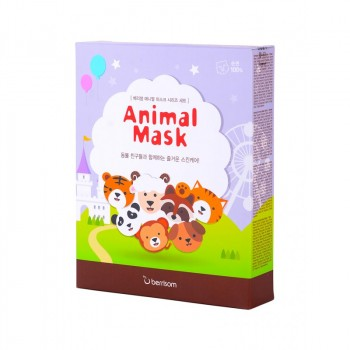 Маска тканевая набор Animal mask series 7p Set
