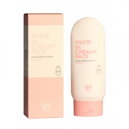 Маска для лица и тела осветляющая White In Creamy Pack