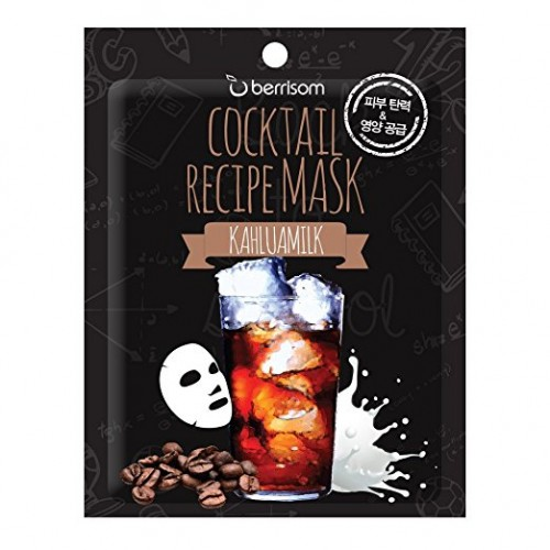 Маска для лица Cocktail Recipe Mask - Kahlua Milk