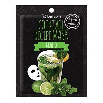 Маска для лица Cocktail Recipe Mask - Mojito