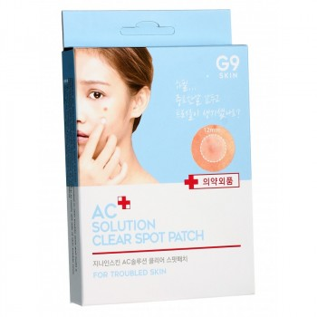 Патчи акне AC solution ACNE clear spot patch