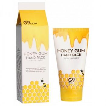 Маска для рук медовая G9SKIN Honey Gum Hand Pack