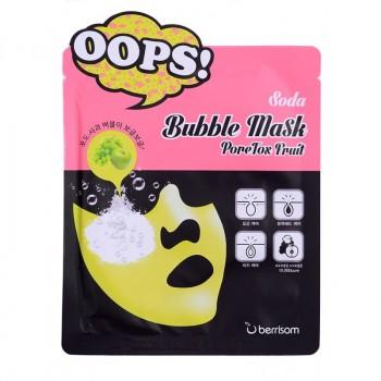 Маска для чистки пор Soda Bubble Mask_PoreTox Fruit