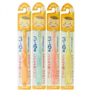 Зубная щетка средней жесткости для детей 3-6 лет