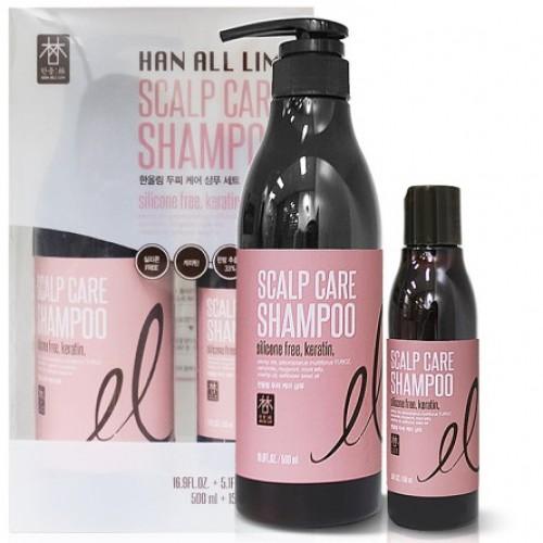 Шампунь Han All Lim для ухода за кожей головы (набор)