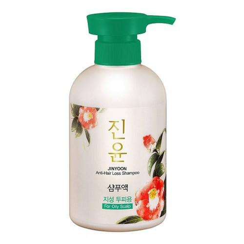 Шампунь JINYOON против выпадения волос (для жирной кожи головы)