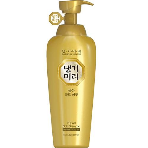 Шампунь для волос YULAH GOLD Укрепление, питание и блеск