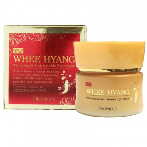 Крем для век антивозрастной WHEE HYANG WHITENING & ANTI-WRINKLE EYE CREAM