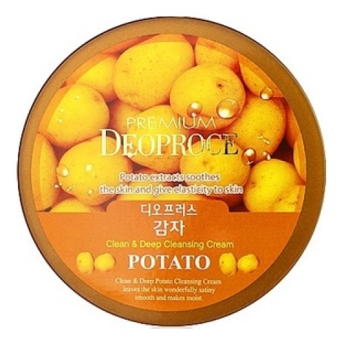 Крем для лица очищающий с экстрактом картофеля PREMIUM CLEAN & DEEP POTATO CLEANSING CREAM