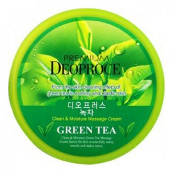 Крем массажный с экстрактом зеленого чая PREMIUM CLEAN & MOISTURE GREEN TEA MASSAGE CREAM