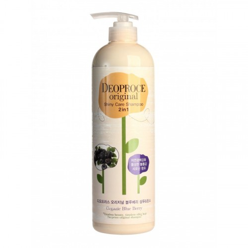 Шампунь-бальзам 2 в 1 черника ORIGINAL SHINY CARE 2 IN 1 SHAMPOO BLUEBERRY