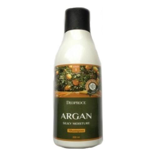 Шампунь для волос с аргановым маслом ARGAN SILKY MOISTURE SHAMPOO