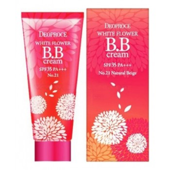 Крем ББ 21 тон WHITE FLOWER BB CREAM SPF35 PA+++ #21