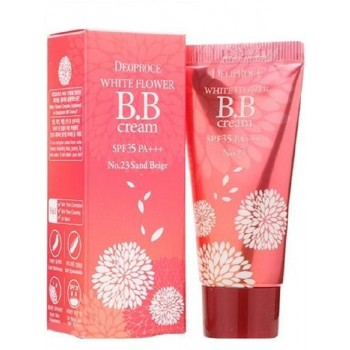 Крем ББ 23 тон WHITE FLOWER BB CREAM SPF35 PA+++ #23