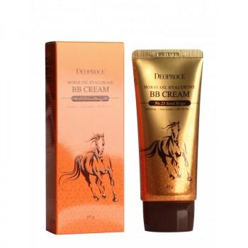 Крем ББ с гиалуроновой кислотой и лошадиным жиром HORSE OIL HYALURONE BB cream #23