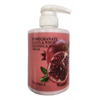 Крем массажный очищающий с экстрактом граната POMEGRANATE CLEAN & WHITE CLEANSING & MASSAGE CREAM
